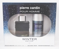 Pierre Cardin Pour Homme Winter Edition, Eau de Toilette 75 ml + Deo Body Spray 200 ml