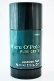 Marc O'Polo Pure Green, man, Deodorant Stick, 75 ml